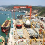 Hyundai Heavy relegated to 3rd place in order backlog