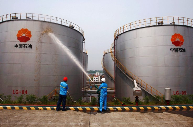 petrochina-oil-storage-tanks