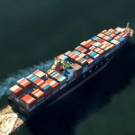 Asia-Europe container freight rates fall 23%