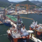 Korean yards suffer massive losses in Q3