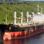 Baltic index down on lower vessel rates