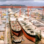 Hyundai Heavy Industries' union launches three-day full strike