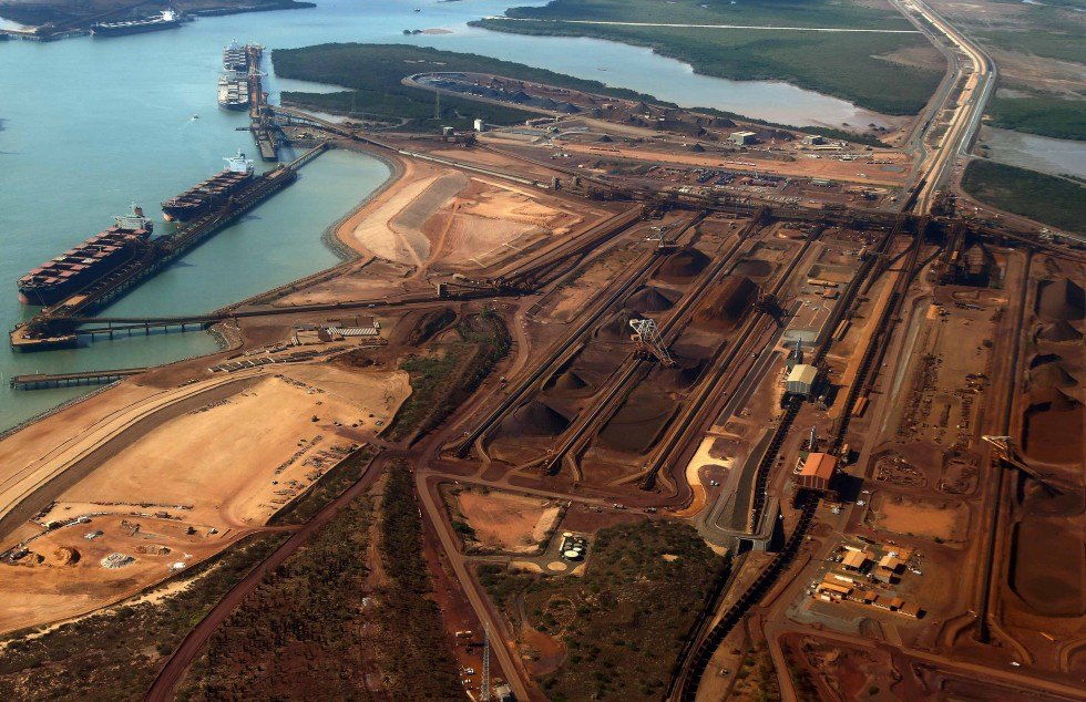 Fall in Port Hedland ore shipment to China