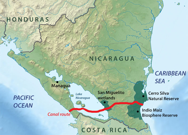 Key Nicaragua canal work due late in 2016 Shipping Herald