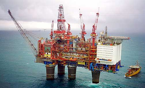 Offshore-Platform-Norway