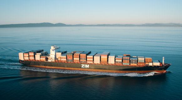 ZIM-containership