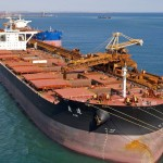 China October iron ore imports down