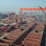 Chinese shipbuilding orders sink 62 pct