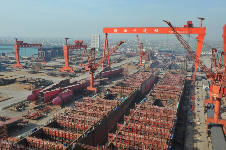 Chinese shipbuilding