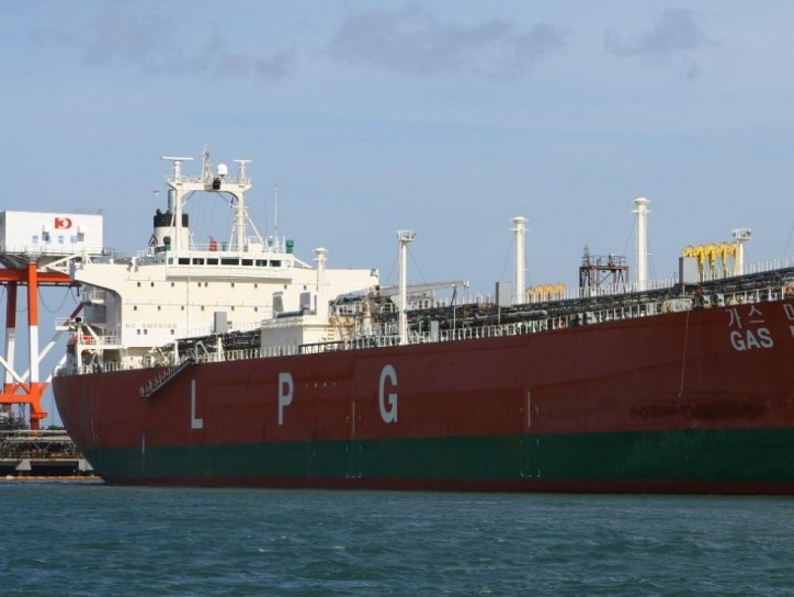 LPG once again being stored in tankers off Singapore