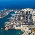 Workers walk out at Malta Freeport