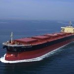 Baltic index down on lower rates for panamax vessels