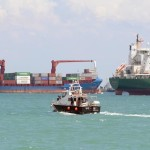 Freighter sinks after collision in Singapore Strait