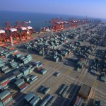 China's weekly export container shipping index down