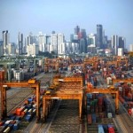 Box volumes at Singapore port up in June