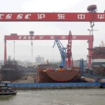 China makes waves in world shipbuilding – report