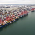 Long Beach Breaks September Cargo Record