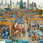 Singapore container volumes up in April
