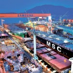 S. Korean shipyards estimated to have clinched record new orders in H1