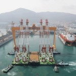 DSME delivers drill ship to Transocean