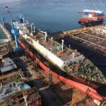 S. Korean shipyards seal deals to build 9 ships through April