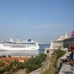 First US cruise ship in decades docks in Cuba