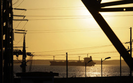A fuel tanker navigates near the Cienfuegos Oil Refinery some 240 kilometres, (150 miles), southeast of Havana February 7, 2013.