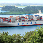 COSCO vessel on way to historic transit through expanded Panama canal