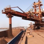China October iron ore imports lowest since February