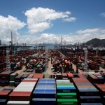 Hong Kong port Jan container volumes up