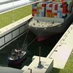 Ship hits wall of Panama Canal, renews design concerns