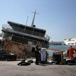 Piraeus: Port Authority issues tender to remove sunken vessel from coastal zone