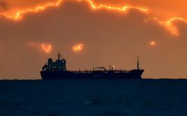 The Angleviken Maltese oil tanker sails offshore Saint-Nazaire, western France, on March 10, 2016.   / AFP / LOIC VENANCE        (Photo credit should read LOIC VENANCE/AFP/Getty Images)