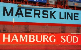 Hamburg Sud Maersk logos