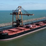 Baltic index down on weaker rates for larger vessels