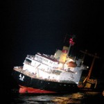 North Korean cargo ship sinks off Japan, all crew rescued