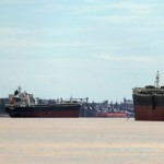 Argentina's Rising Grains Production Strands Vessels in River Traffic