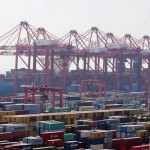 Shanghai container volumes up