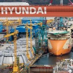 Hyundai Heavy workers stage partial strike over merger