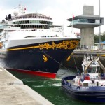 New Panama Canal Locks Welcome First Cruise Ship