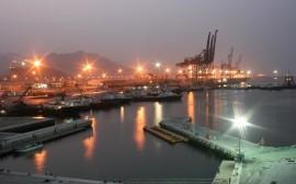 The port of Fujairah