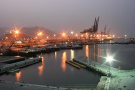 The port of Fujairah