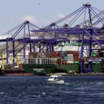 Three new super-panamax cranes arrive at Cosco terminal in Piraeus