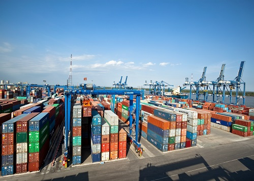 Kalmar Saigon Newport Corpotation SNP Ho Chi Minh City Vietman Container terminal operations
