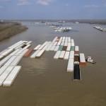 Low water, lock repairs send US river freights soaring