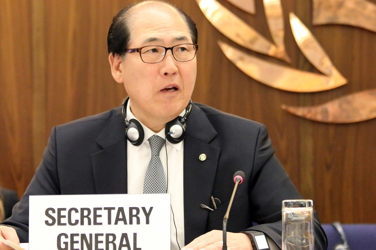 IMO Secretary-General Kitack Lim