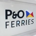 P&O Ferry Runs Aground in Calais