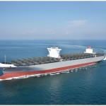 K Line takes delivery of 14000-TEU containership