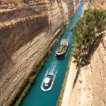 Greece temporarily shuts Corinth canal for ships after rockfall