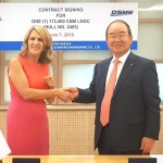 Alpha Gas Orders LNG Carrier at DSME